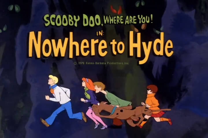 "Scooby-Doo, Where Are You!  - Season 2, Episode 1: ""Nowhere to Hyde"" - Title Animation by Unknown"