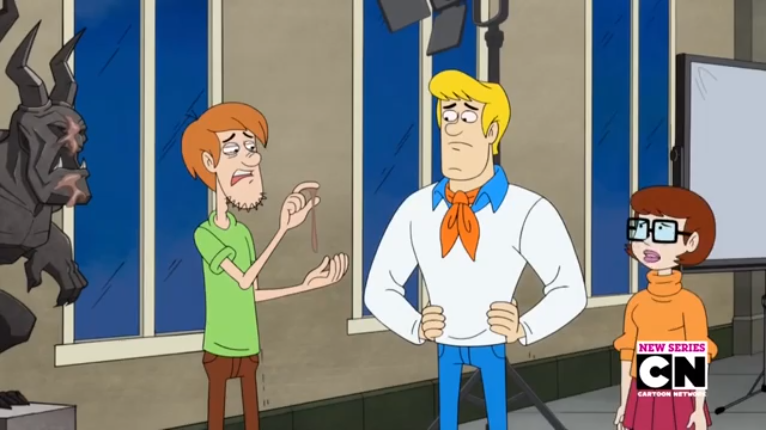 Fred was beginning to regret asking Shaggy why, exactly, he wasn't feeling well.