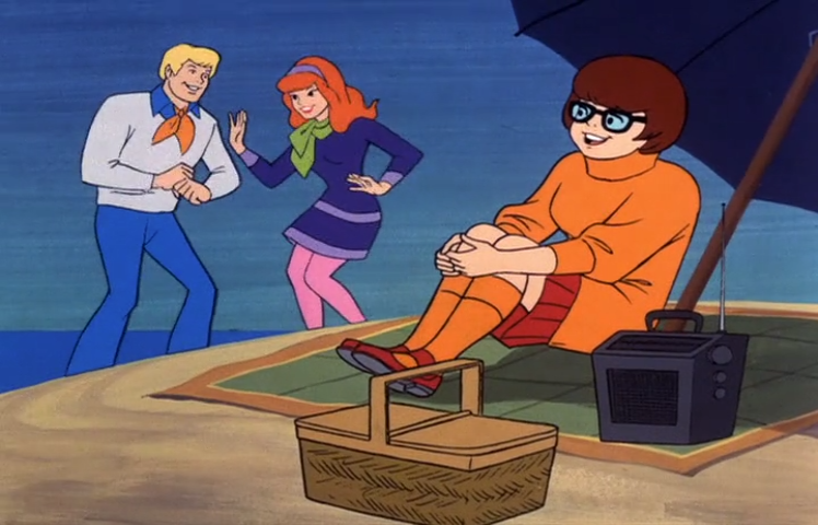 Sometimes Velma liked to imagine that she was the one dancing with Fred. Other times, she just liked to imagine that she was Fred.