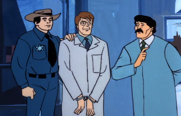 He may have been the only Jewish officer on the force, but Detective Mandelbaum sure wasn't going to be shy about it.