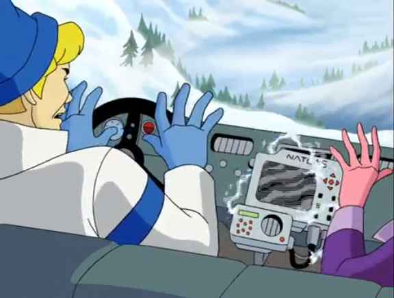 Fun fact: nothing short-circuits a dashboard GPS like jazz hands..