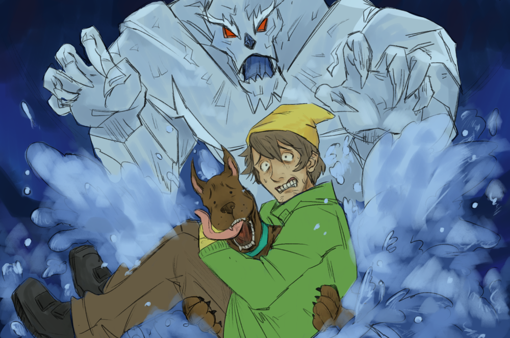 "Scooby Dudes  - Episode 51: ""There's No Creature Like Snow Creature"" - Title Card by Odango"