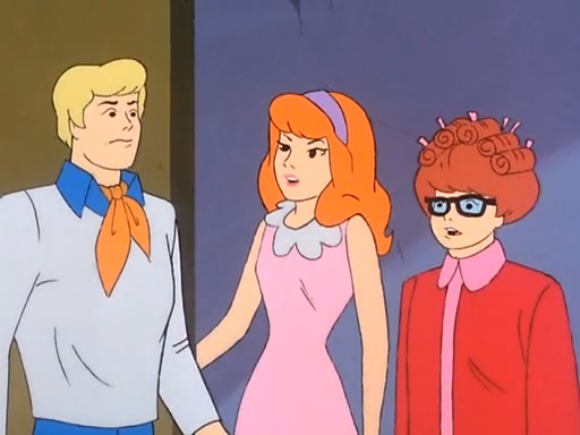 Legend has it that Velma dumped the costume designer right before filming this episode.