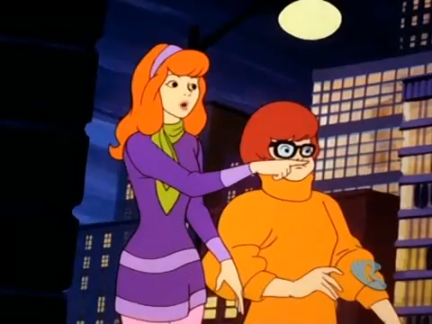 Daphne  hated  it when Velma sneezed.