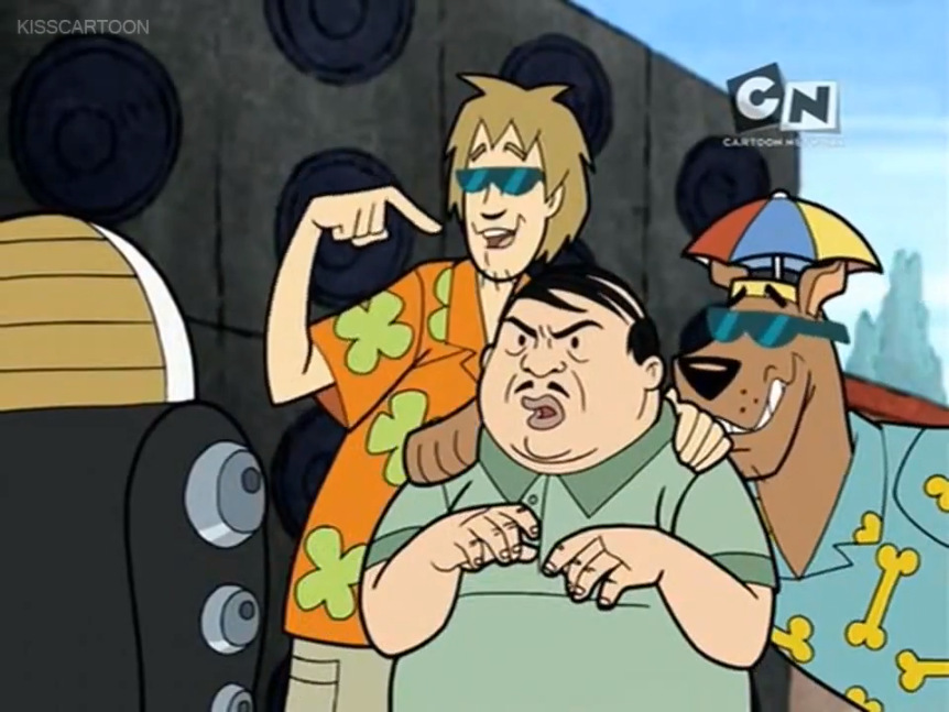 Shaggy outlines for Robi the many ways that Thurston Havansimp was slighted by this episode's character designers.