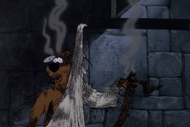 Fun Fact: the team behind  Looney Toons  was allowed to animate one scene per episode of  Scooby-Doo .