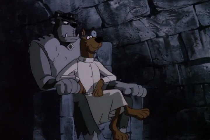 No one would have ever guessed who would end up sitting the Iron Throne.   Scooby, first of his name, Ruler of the Seven Kingdoms, King of the Andals, etc.