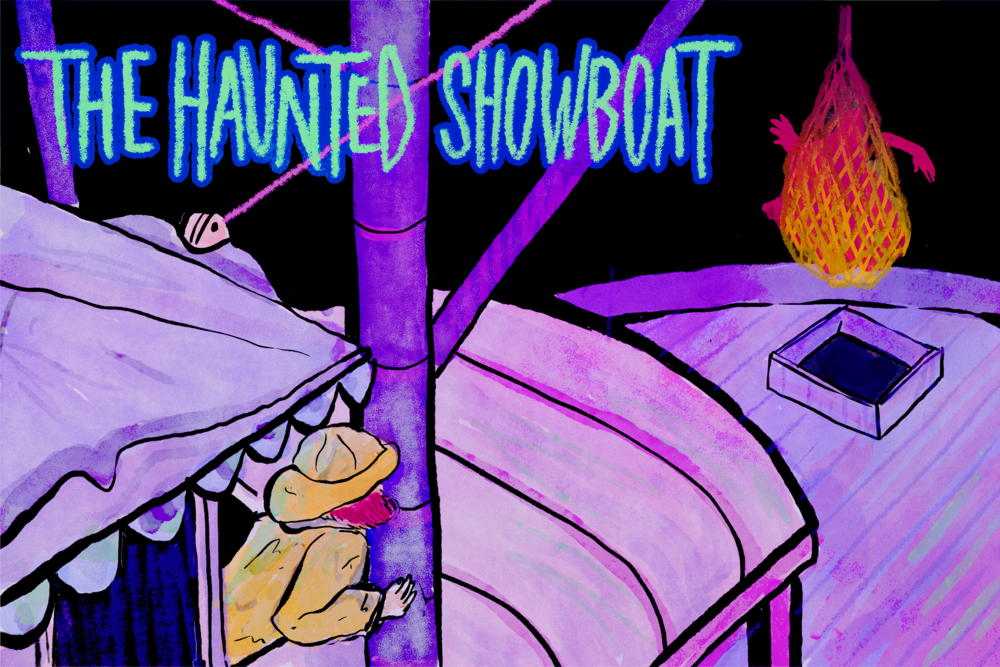 "Scooby Dudes  - Episode 59: ""The Haunted Showboat"" - Title Card by Ulibeanz"