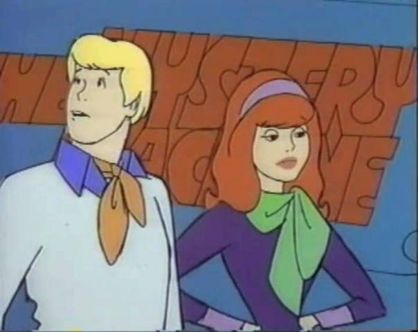 Fred observes a bird whilst Daphne experiences emotional detachment.