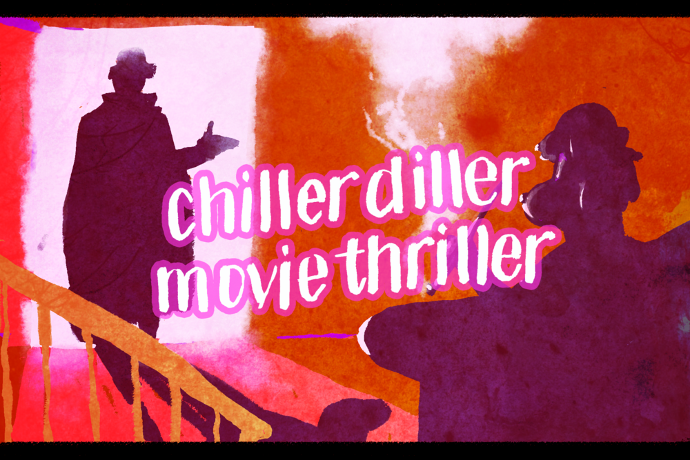 """Scooby Dudes  - Episode 60: """"The Chiller Diller Movie Thriller"""" - Title Card by Ulibeanz"""