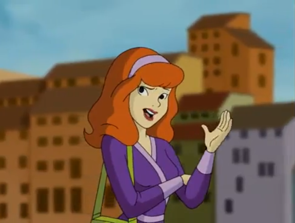 Nothing flustered Daphne like getting asked whether her eyes were pointing in the same direction.