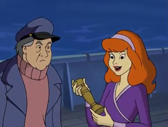 Daphne had never thought of herself as the kind of girl to just grab some old Italian dude's ancient candlestick, but she pleasantly surprised herself.