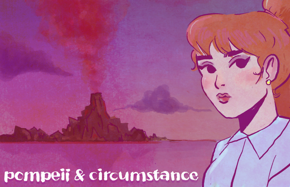 "Scooby Dudes  - Episode 61: ""Pompeii and Circumstance"" - Title Card by Ulibeanz"