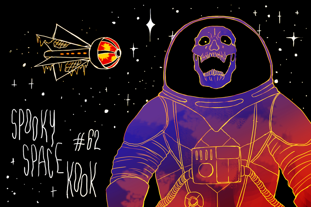 """Scooby Dudes  - Episode 62: """"Spooky Space Kook"""" - Title Card by Flóra"""