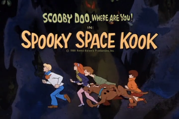 """Scooby-Doo, Where Are You!  - Season 1, Episode 15: """"Spooky Space Kook"""" - Title Animation by Unknown"""