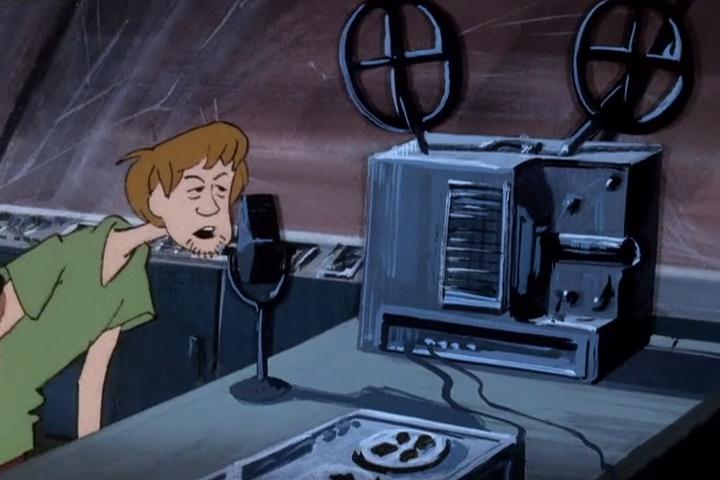 As part of a meta joke on Casey Kasem, Shaggy's characters was written to be a lousy radio jockey.
