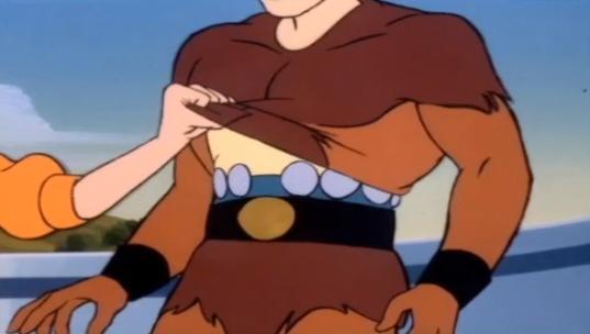 """No abs but he's got bulk alright. Must be in between cutting macros, amirite brah?"""