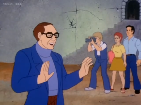 """""""Come now, tourists, look here: there are  many  more fingers to be seen on the ends of  my  arms."""""""