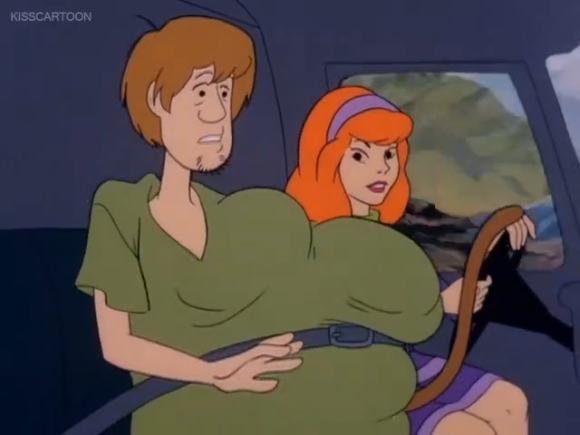 Shaggy felt self-conscious about his changing pubescent body.