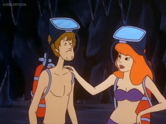 """""""Sorry, Shaggy. For clones like us, the only belly buttons are drawn-on."""""""