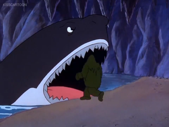 If you look closely, it's obvious that  Aladdin  traced this moment to make the Cave of Wonders sequence.