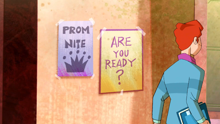 """""""But if we put both sentences on the same poster isn't that like saying that kids should  only  be ready for prom?"""""""