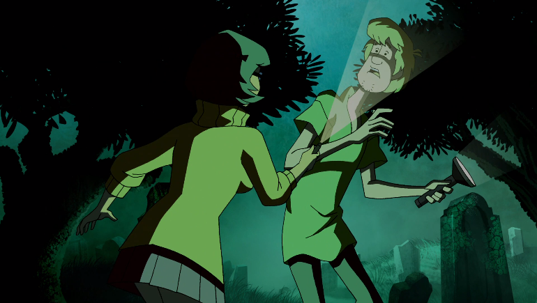 """""""Look, Velma, when I said I think you have weak thighs-"""""""