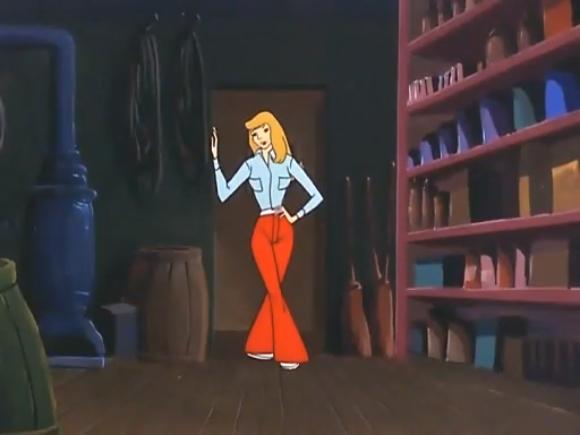 "The animators go for the legendary ""Double-hourglass."""