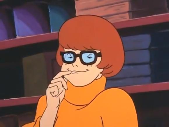 """""""Velma, no. Velma! No! Don't eat your boogers, Velma!"""""""