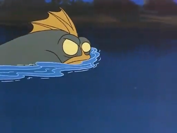 Even the beast sometimes loses its car keys while swimming.