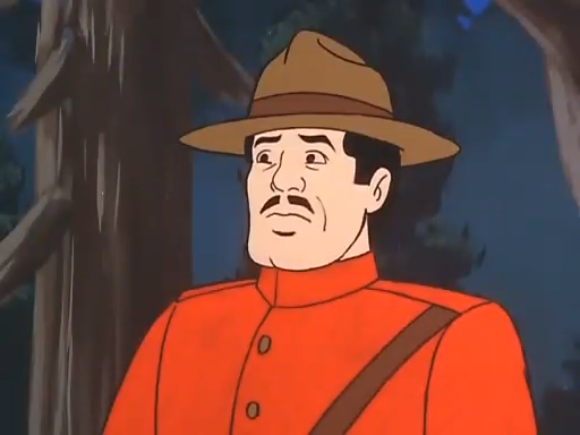 A Canadian, upon hearing this show's take on a traditional Canadian accent.