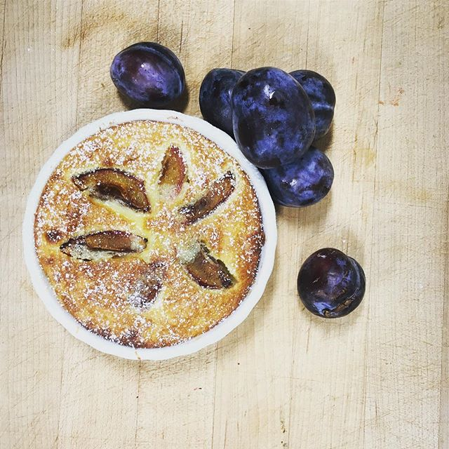 Give me stone fruit and we give you Clafoutis! #plum #plumclafoutis #clafoutis #orthewhalepgh  #pittsburgh #downtownpittsburgh #pgh #downtownpgh #pgheats #eatpgh #goodfoodpgh #pittsburghfood #foodie #pghfoodie #pghfoodbloggers #412 #lovepgh #eeeeeats #dessert #desserts