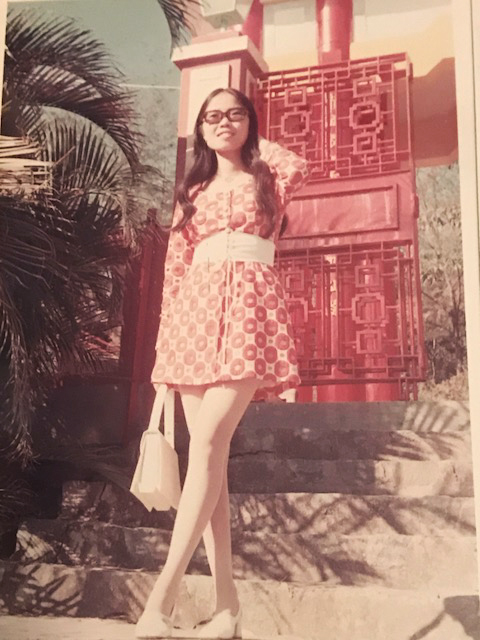 My mother in 1972, age 22, in Hong Kong. (Photo cred: my dad, the original Instagram Husband.)