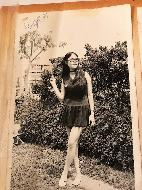 1971, age 21, Hong Kong.