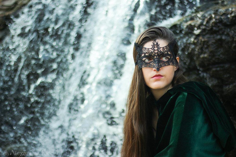 alexandra-rice-photography-k.m.rice-author-fantastical-photoshoot-highway-one-cloak-mask-fantasy-elf-ranger-badass-woman.jpg