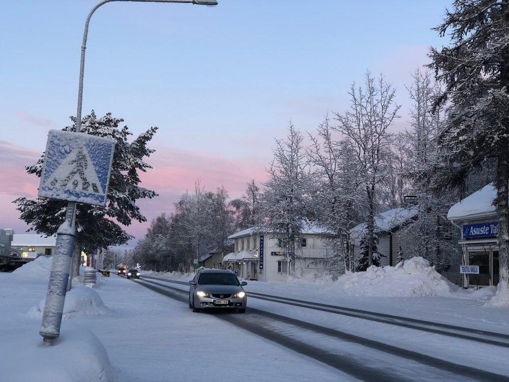 Main Road of Kittila