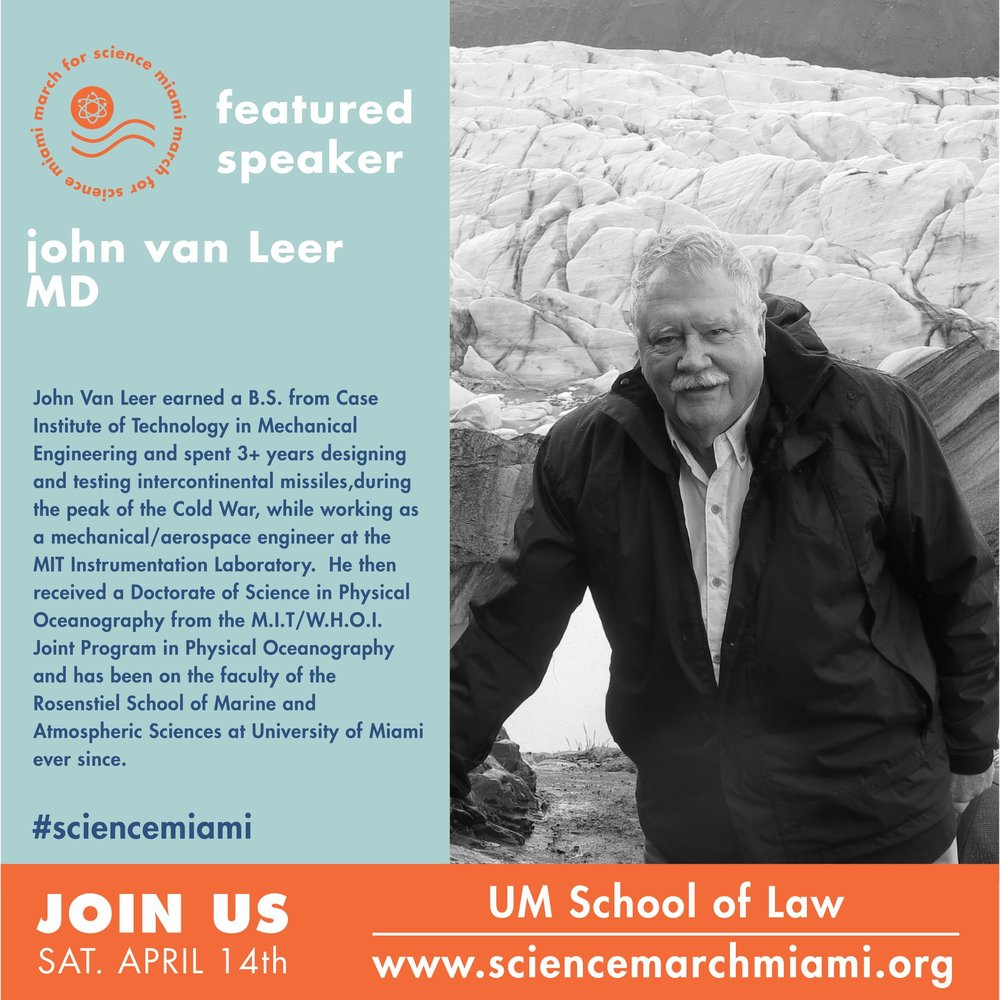 john van leer, ph.d.   associate professor in the  rosenstiel school department of ocean studies .