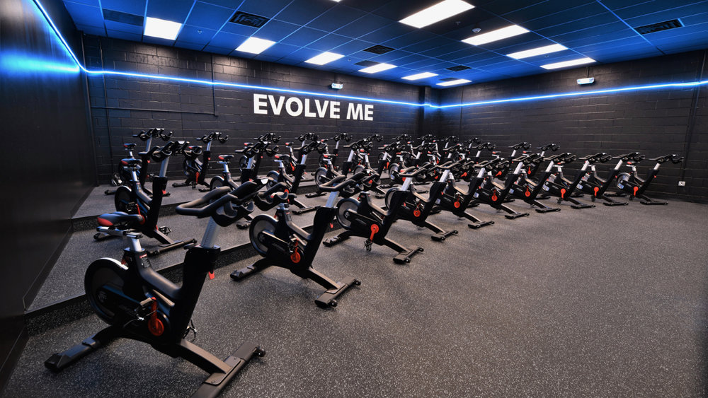 Evolve Fitness Audubon Cycle Room