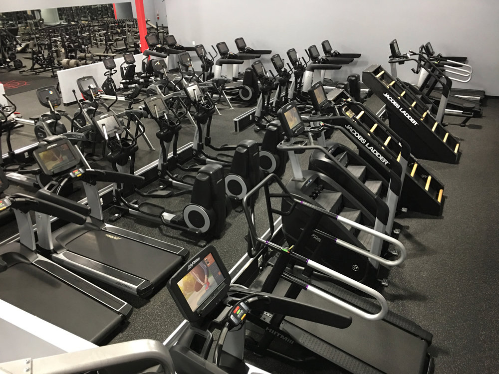 Evolve Fitness Audubon Cardio Area. Watch Netflix, play games, and more, right from our cardio equipment