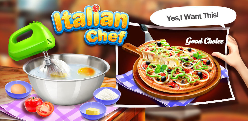 Gourmet Pizza: Kids Food Game   You know what you like on your pizza, so why always go to a pizza parlor to get it made for you? Start making your own gourmet pizzas! How many combinations can you come up with?