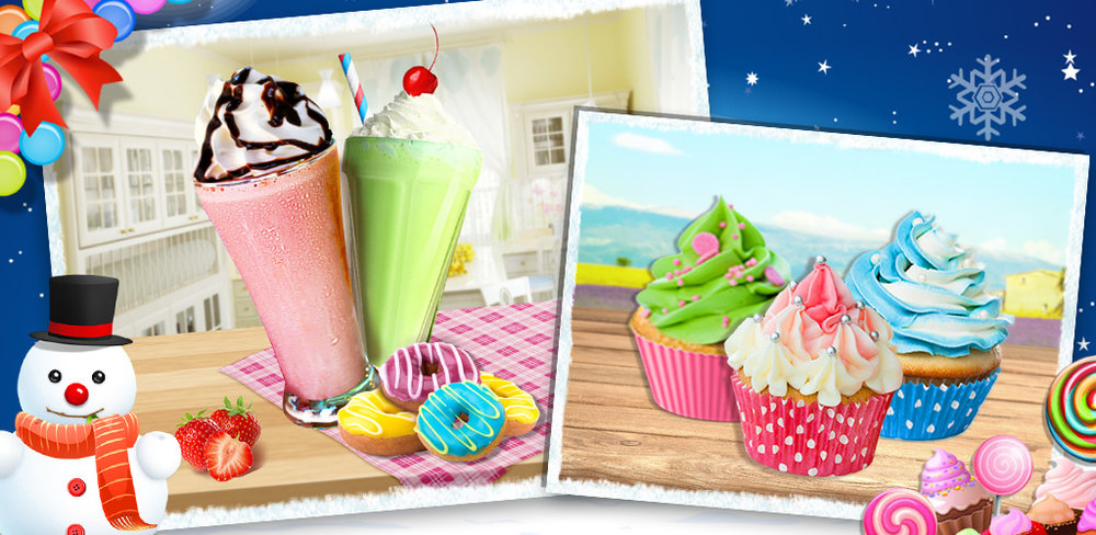 Kids Tea Party - Super Chefs!         It's a kids tea party and you need to prepare! Quick, there is not much time yet so many things to make, bake & DECORATE!