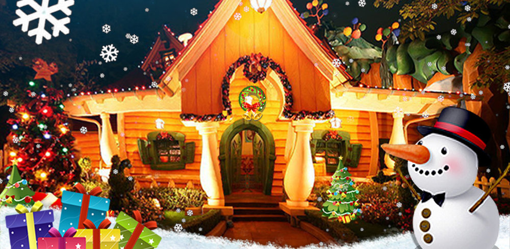 Christmas Home Decoration - Free                                    With Christmas Home Decoration, you can put up lights, design trees and turn your home sweet home into the best winter holiday house on the block!