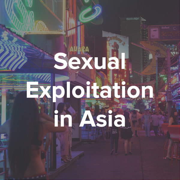 Asia is at the centre of the worlds sex tourism industry. What place does the gospel have in bringing justice to those who have been victimised?