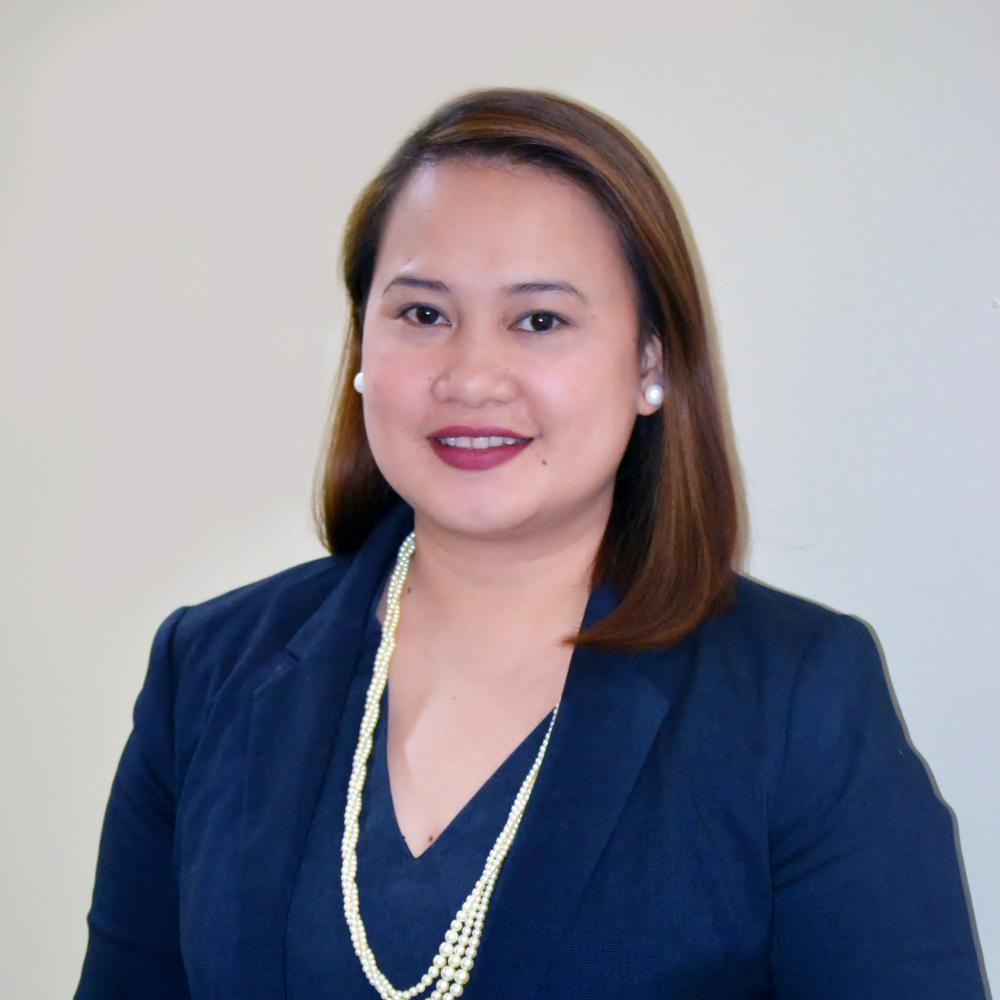 Lucille G. Dejito   Director of Legal Interventions, International Justice Mission (IJM), Cebu Field Office