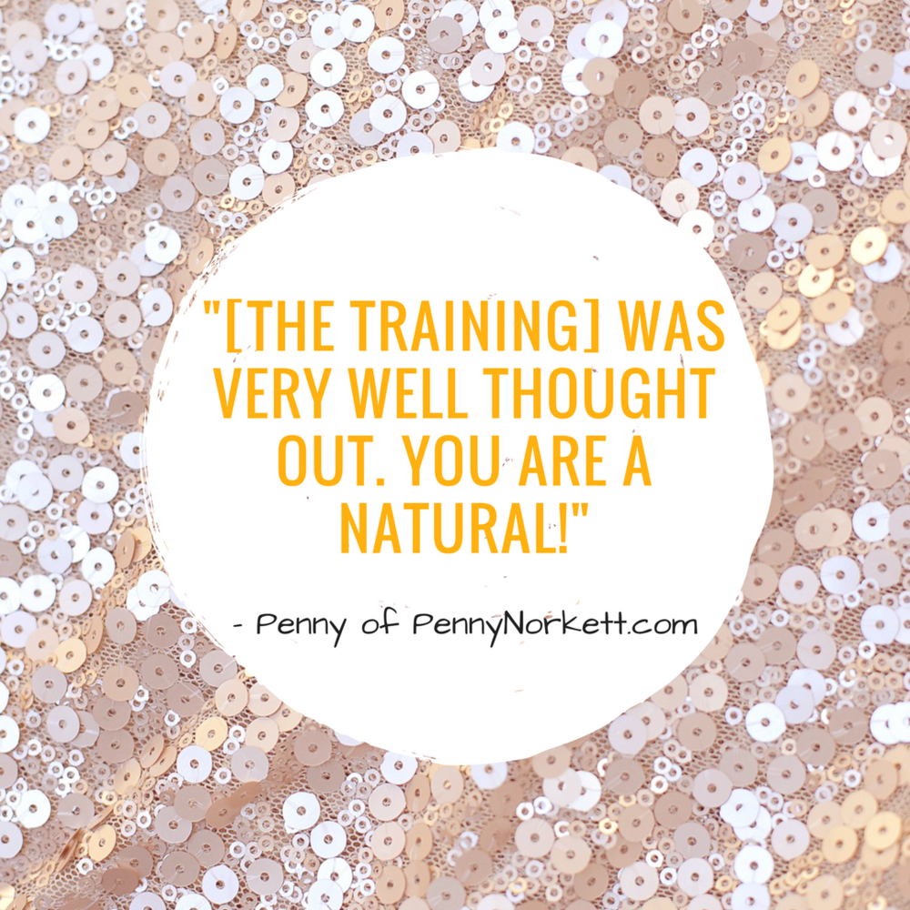 The training was very well thought out.  You are a natural! this testimonial is from ten ways to tame your massive to do list training live on facebook as a guest in a group.