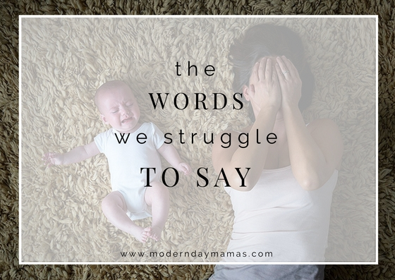 The Words We Struggle to Say