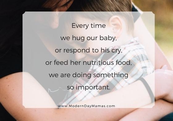 Every hug counts