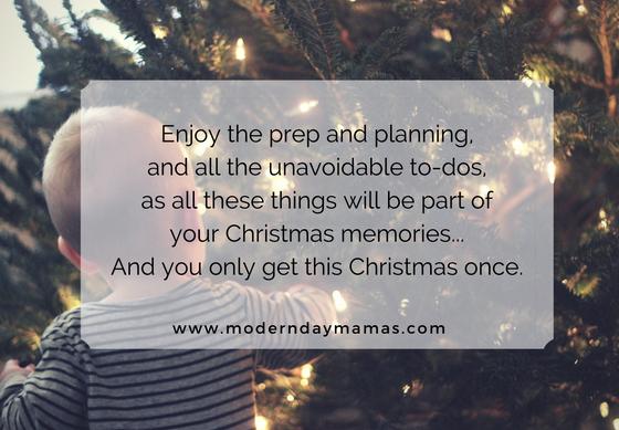 Making Christmas memories special