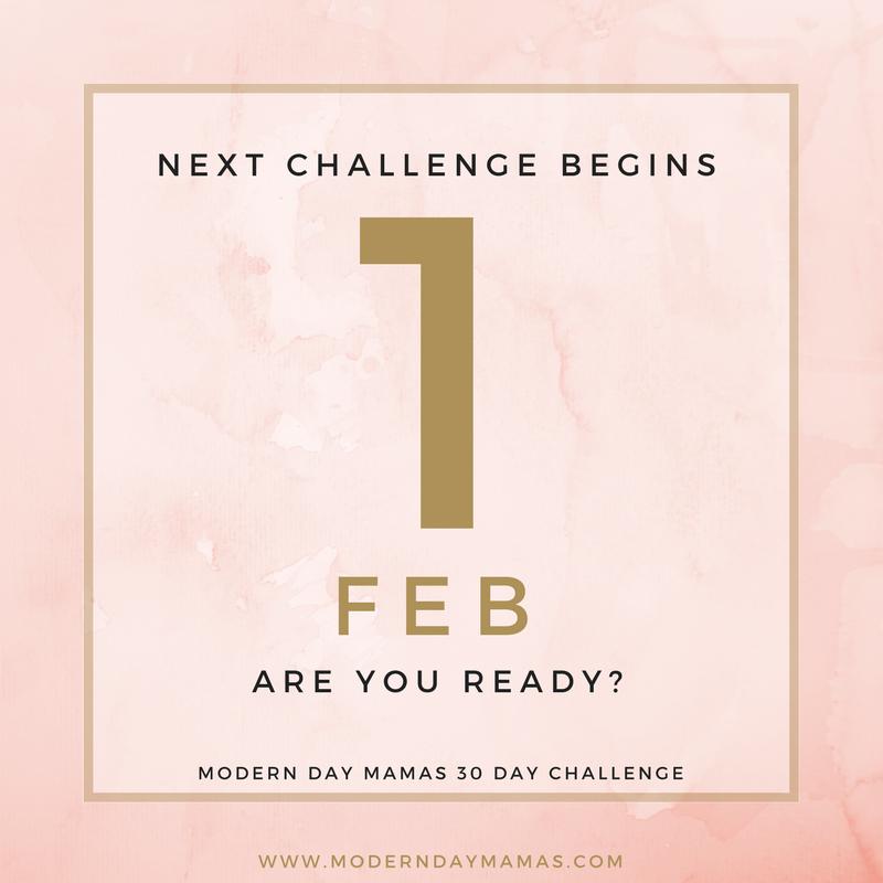 30 day challenge 1 feb 2018