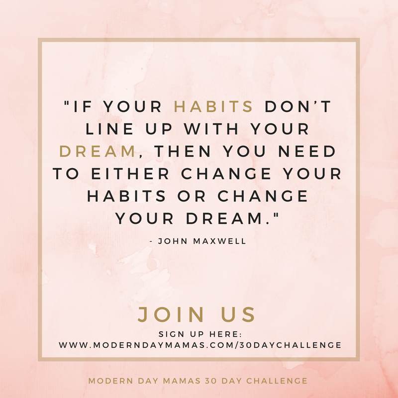 Habits and Dreams_30 Day Challenge